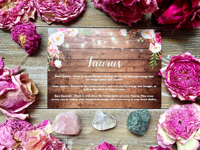 Rose Quartz Energy Gift May Birthday Gift Taurus Birthstone Horoscope Bracelet Taurus Zodiac Healing Anklet