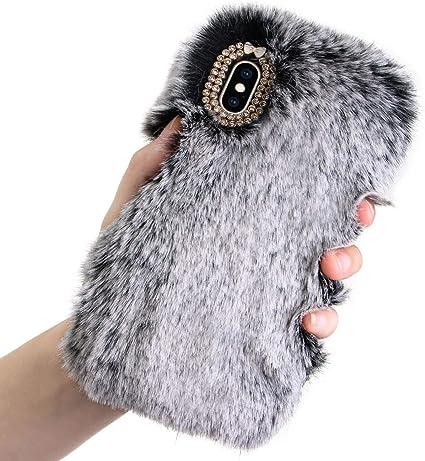Phone Cases Bunny Warm Fur TPU Phone