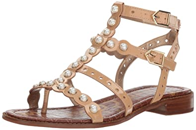 71fcf393e Amazon.com  Sam Edelman Women s Elisa 2 Flat Sandal  Sam Edelman  Shoes