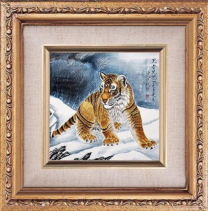 ytg 5d Diamond bordado diamante mosaico pintura al óleo imagen Tigre 3d DIY Diamond pintura de
