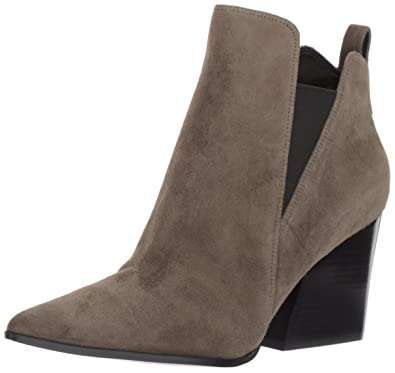 KENDALL + KYLIE Women's Fox Ankle Boot, Khaki Green, 10 Medium US