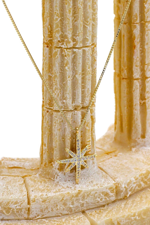 Ocean Fashion Polaris Small Crystal Necklace