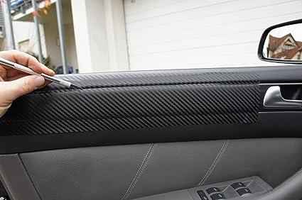 5er Original 3d Carbon Zierleisten Set 15 Teiliges Folienset Aus 3d Carbon Schwarz Folie Für Den Innenraum Ihres Fahrzeuges 5er E39 1995 2004 Auto