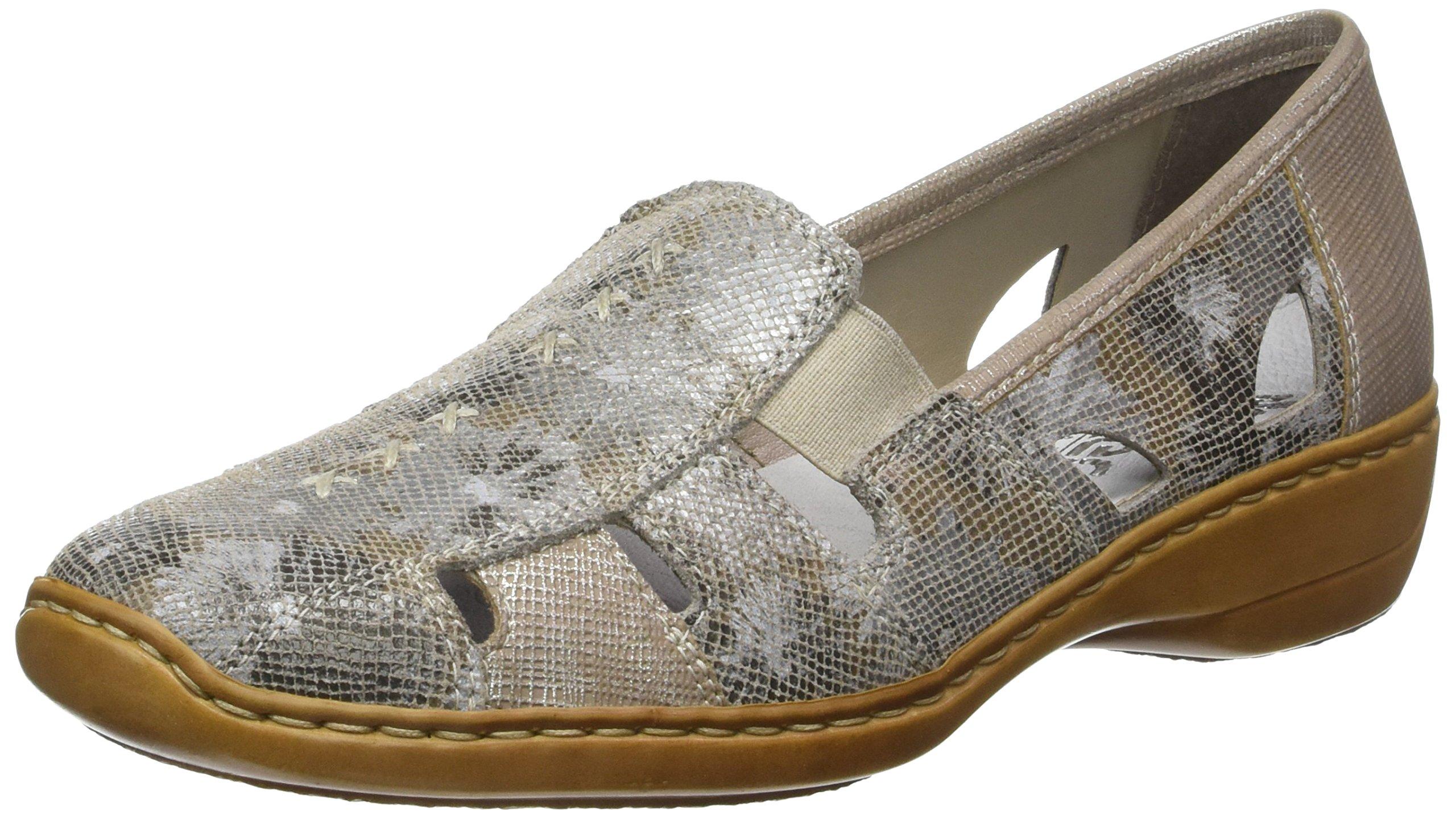 Rieker 41385 - 91 Altgold (Gold) Womens Shoes 6 US