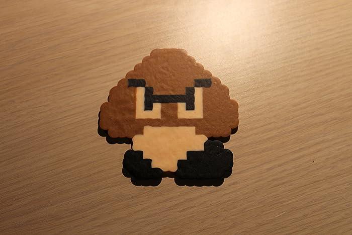 Amazoncom Goomba Pixel Art Bead Sprite From Super Mario Bros Handmade