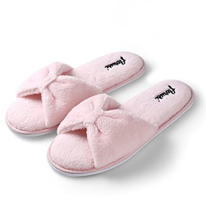5e97285b94d9be Image Unavailable. Image not available for. Color  Aerusi SEP004038 Women s  Indoor Home Bedroom Single Pair Slippers ...