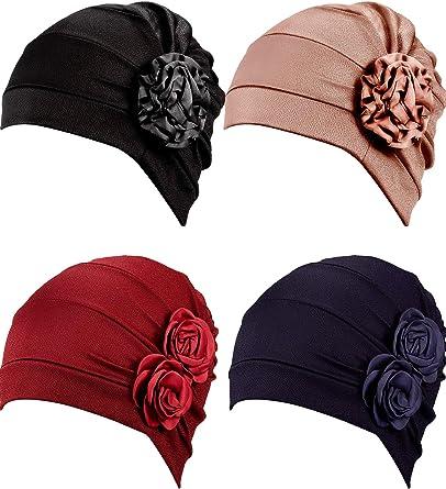 Hair Sleeping Wraps Women Men Head Scarf Beanie Hat Headwear Neck Gaiter