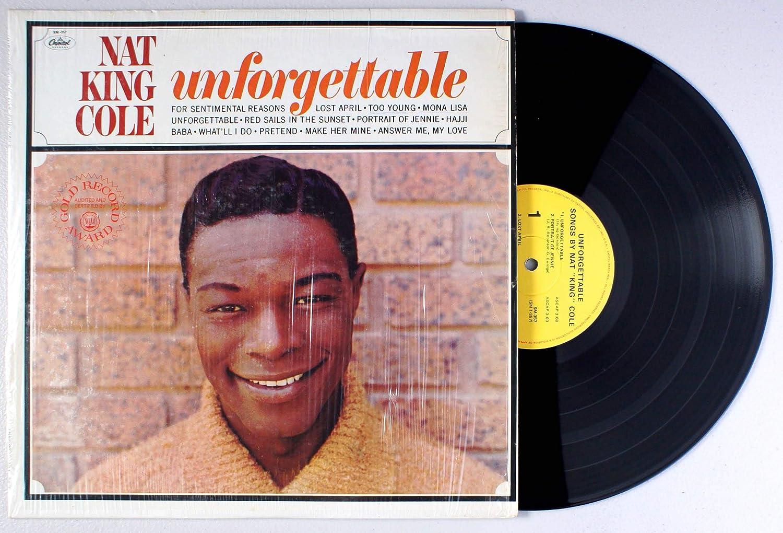 Unforgettable Vinyl Cole Nat King Amazon Ca Music