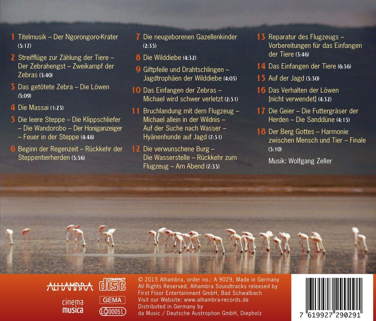 Serengeti Darf Nicht Sterben (Original Soundtrack) - Wolfgang Zeller ...