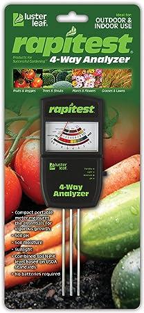 Luster Leaf 1880 Rapitest® 4-Way Electronic Analyzer,No 1880 Luster Leaf Inc