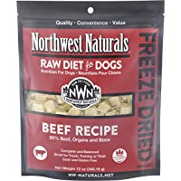 Northwest Naturals Freeze Dried Raw Diet for Dogs Freeze Dried Nuggets Dog Food – Grain-Free, Gluten-Free Pet Food, Dog…