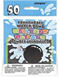Latex Cannonball Water Balloons, Pack of 50