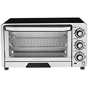 Cuisinart Custom Classic Toaster Oven Broiler - RAW (TOB-40) Stainless Steel - New
