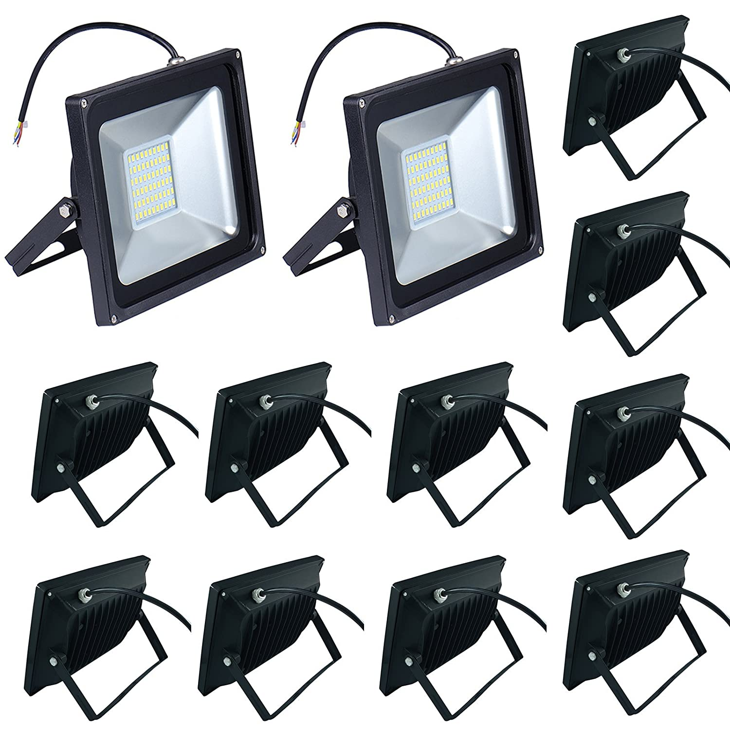 10 pack 50w led floodlight low energy warm white spotlight ip65 10 pack 50w led floodlight low energy warm white spotlight ip65 waterproof outdoorindoor security flood light landscape lamp amazon aloadofball Choice Image