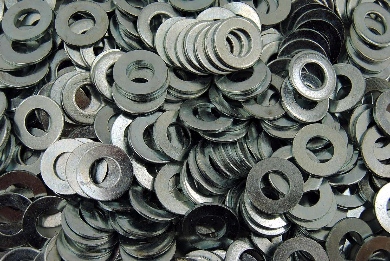 3//8 SAE Flat Washers 1000 Zinc Plated