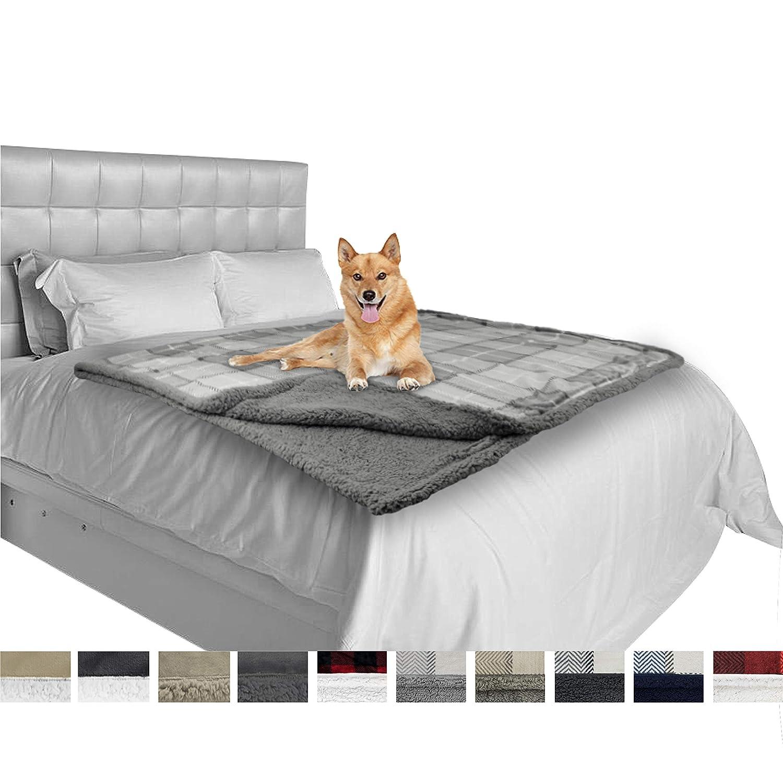 PetAmi Dog Blanket Plaid...