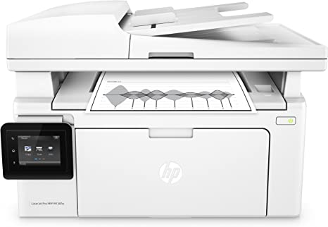HP LaserJet Pro M130fw All-in-One Wireless Laser Printer, Amazon Dash Replenishment ready (G3Q60A). Replaces HP M127fw Laser Printer