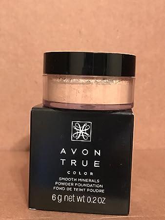 Avon True Color Smooth Minerals Powder Foundation SAND BEIGE
