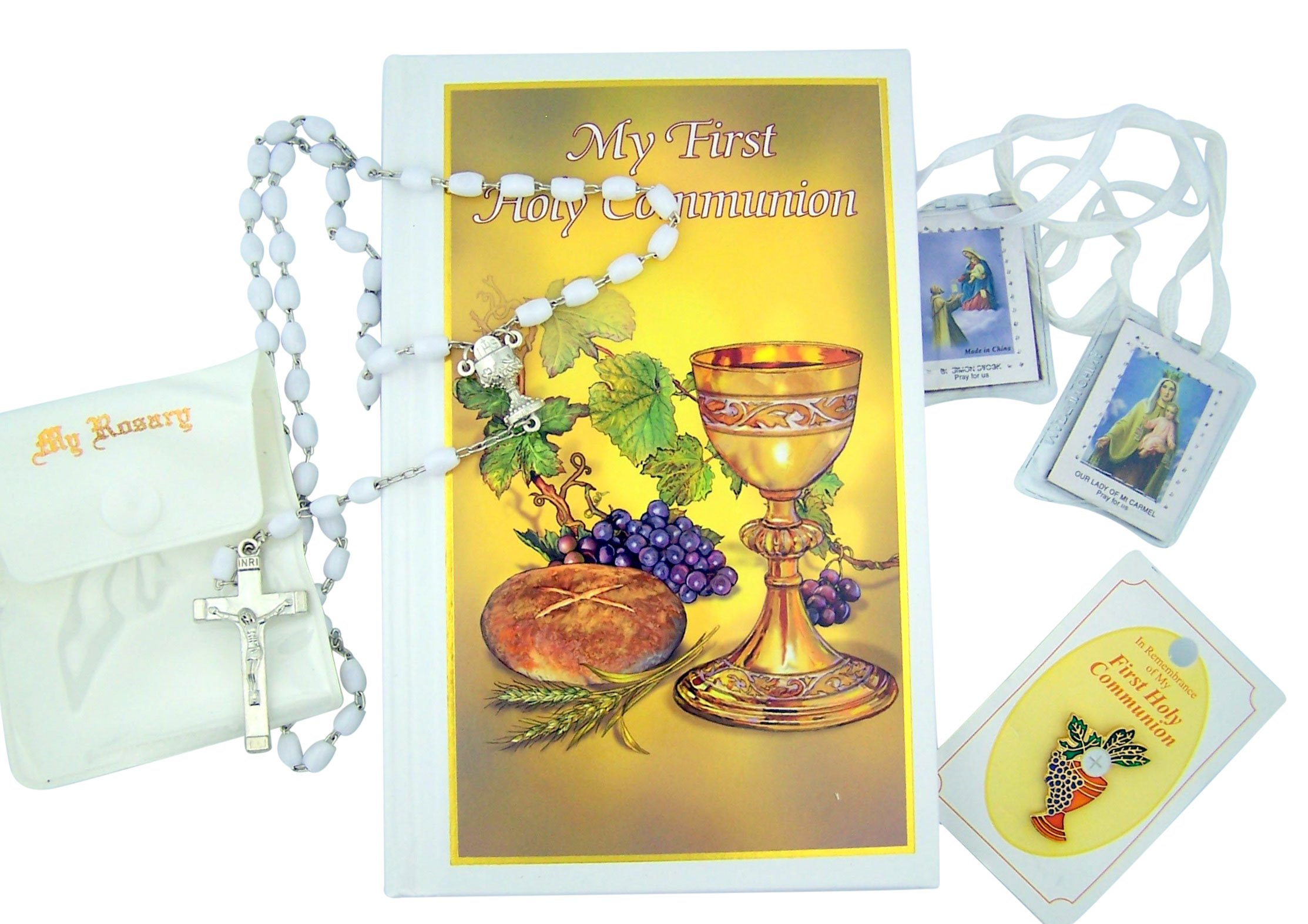Everlasting Life My Holy First Communion Deluxe Box Set for Girl with Mass Book