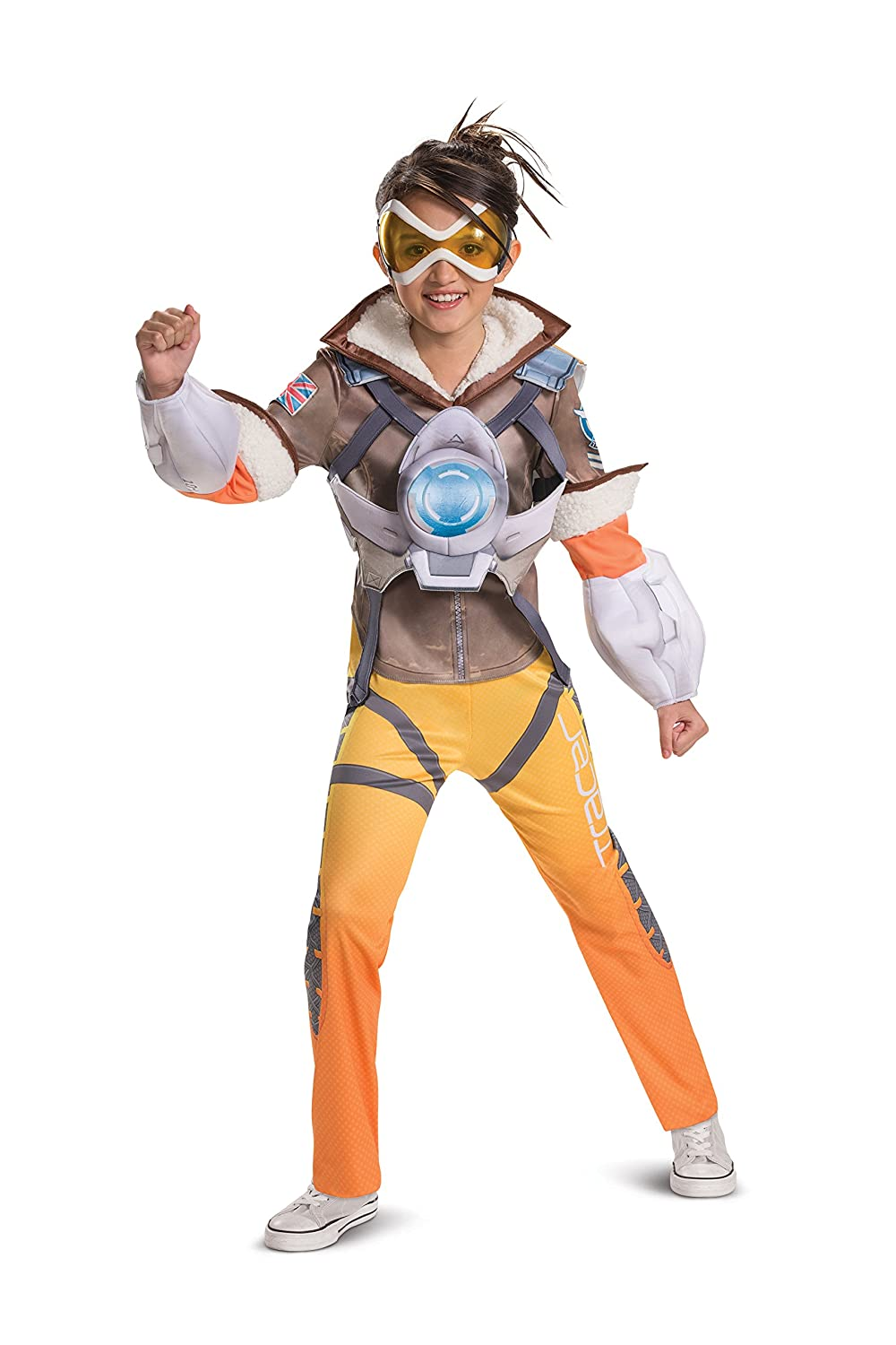 Disguise Overwatch Deluxe Tracer Costume for Kids