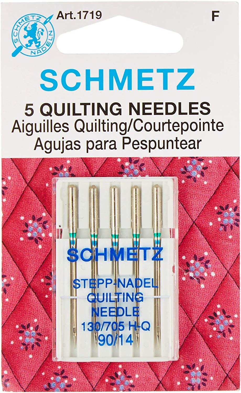 B000YZ8IBE Euro-Notions 71834 Quilt Machine Needles-Size 14/90 5/Pkg 81hfJN2BtarL