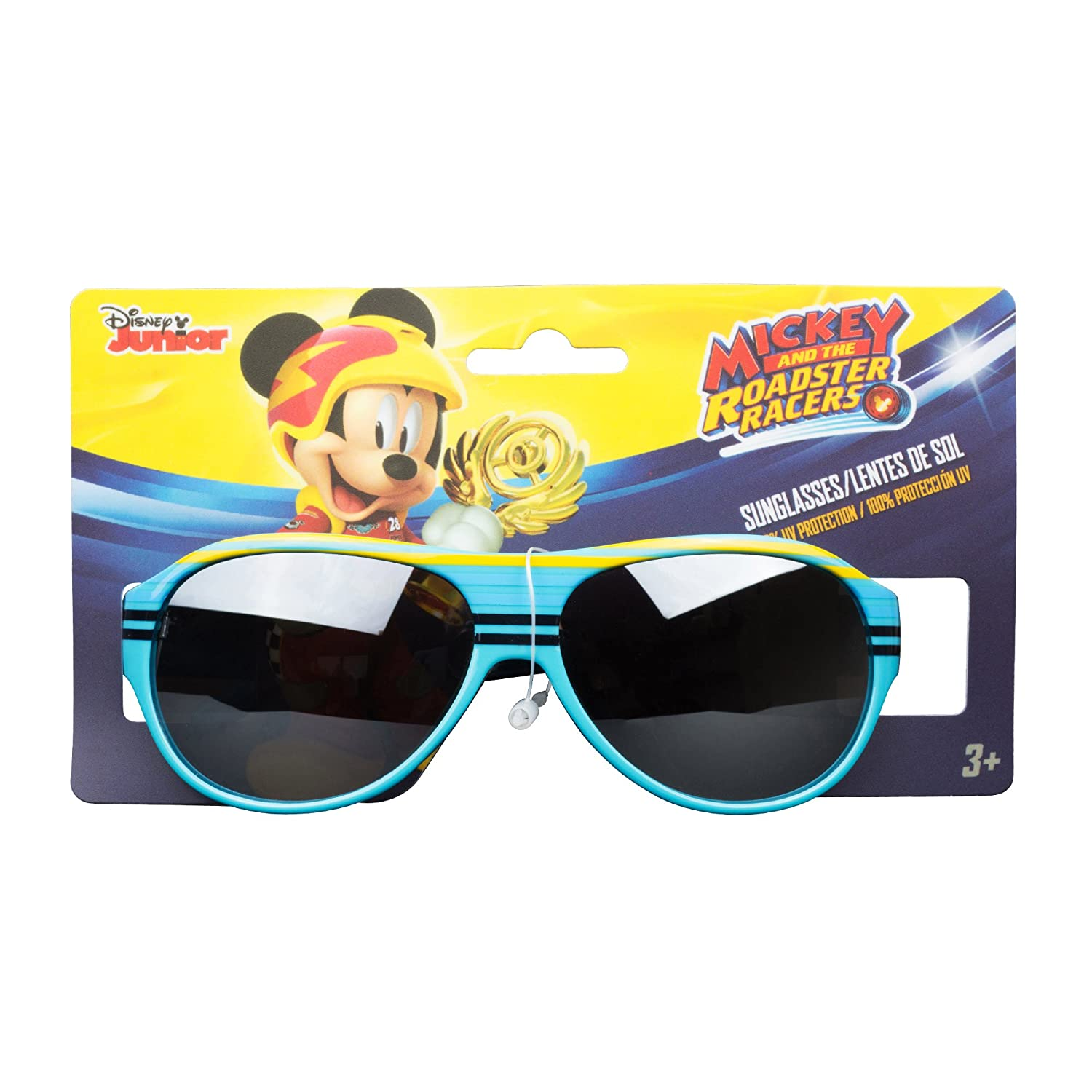 KIDS SUNGLASSES- BOYS 100% UV SUNGLASSES, CARS, MICKEY PAW PATROL, HOT WHEELS, PJ MASK CAR021-NVY-OS
