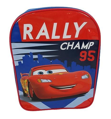 00487bf2f84 Amazon.com | Disney Cars Plain Value Children's Backpack, 31 Cm, 6 Liters,  Multicoloured | Kids' Backpacks