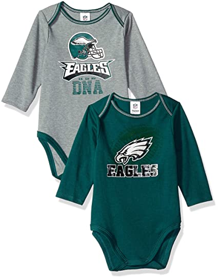 Image Unavailable. Image not available for. Color  NFL Philadelphia Eagles  Unisex-Baby 2-Pack Long-Sleeve ... db9a0c508