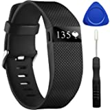 For Fitbit Charge HR, CreateGreat Replacement Band for Fitbit Charge HR 1, Fitbit Charge HR Band,Charge HR Accessories Strap, Fitbit Charge HR Wristband,Large and Small