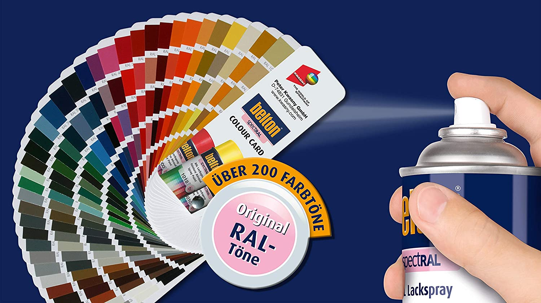 Belton Spectral Lackspray Ral 3002 Karminrot Glänzend 400 Ml Profi Qualität Baumarkt