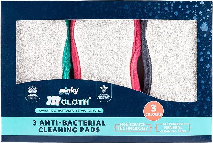 Brand New Minky M Chiffon Anti-bacterial cuisine Pad ⭐ Mme Hinch ⭐ nouveau