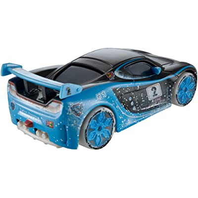 Disney/Pixar Cars Ice Racers 1:55 Scale Diecast Vehicle, Lewis Hamilton: Toys & Games