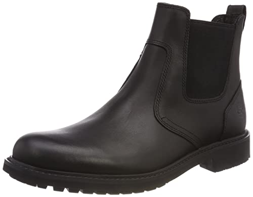UK Shoes Store - Timberland Ek Stormbucks Chelsea Man Boots Black (Black)