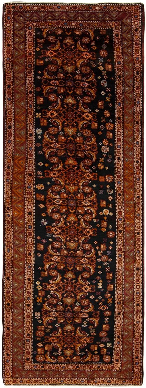 2117-Tappeto Autentico Originale Annodato a Mano Con Certificato di Autenticità 275x100 cm - (Galleria Farah1970)