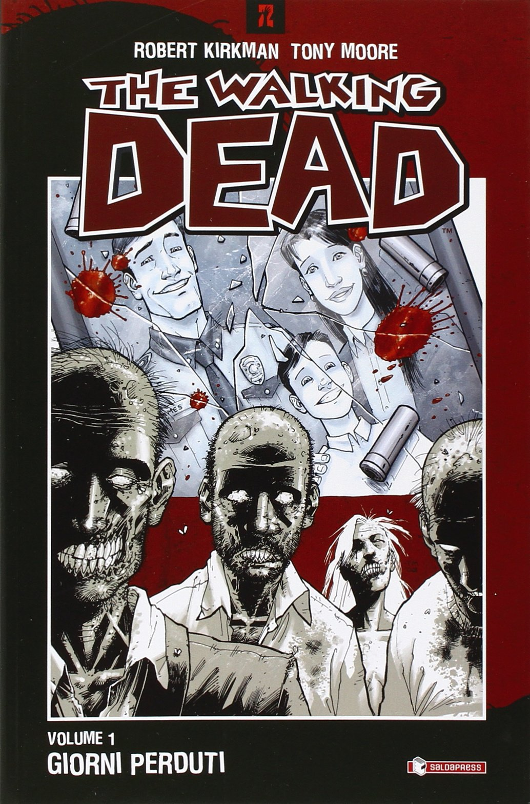 giorni perduti the walking dead vol 1 robert moore tony rathburn cliff kirkman 9788888435176 amazoncom books
