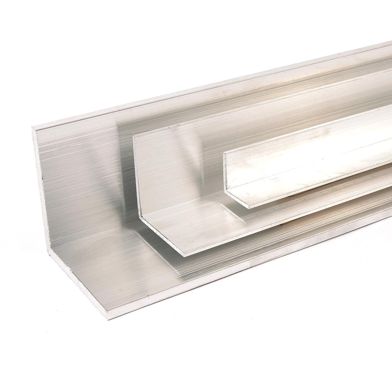 Oberfl/äche blank gezogen Abmessung 50 x 50 x 2 L/änge 1000 mm Aluminium Winkel Winkelprofil Aluprofil gleichschenklig