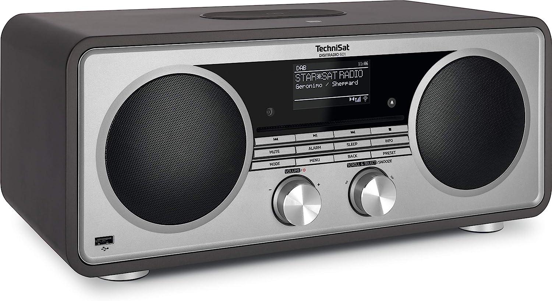 Technisat Digitradio 601 Stereo Internetradio Dab Ukw Subwoofer Fernbedienung Cd Player Usb Bluetooth Audiostreaming Aux Wlan Radiowecker Wireless Charging Amazon Alexa Anthrazit Heimkino Tv Video