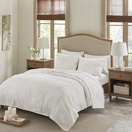 Madison Park 100/% Cotton 3-Piece Quilt Set Bedspread Coverlet