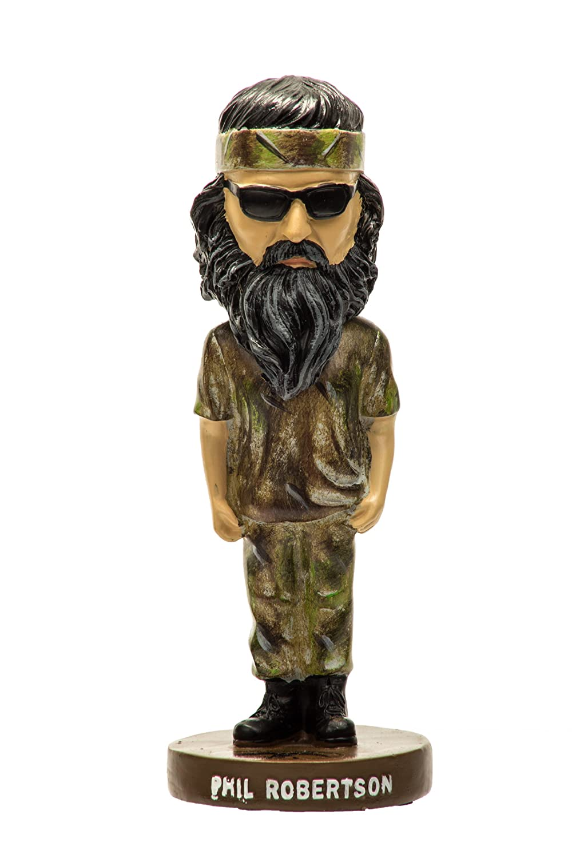 7 Phil Robertson Bobble Head Doll - As Seen on Duck Dynasty DC-BHPHIL-X