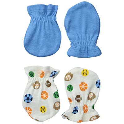 Always Baby Baby-Boys Sport 6 Piece Mittens Bundle