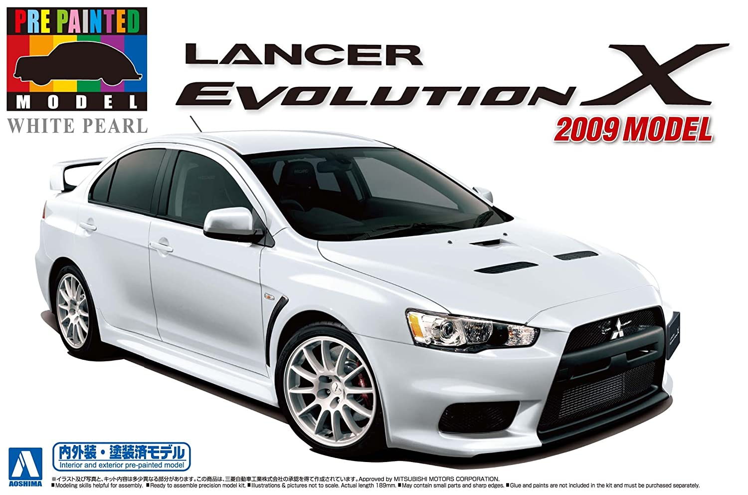 caliente No.28 model Lancer Evolution X 2009 January January January / 24 Pre-Painted Model Series (White Pearl) (japan import)  suministro directo de los fabricantes