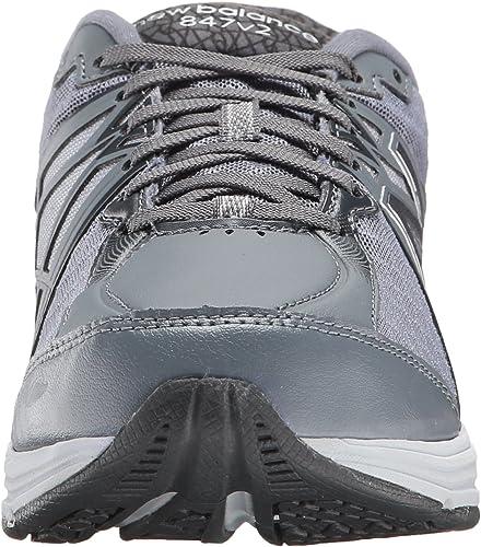 New Balance Mujeres ww847gy2 Walking Marche Bajos & Medios Cordon Zapatos para Correr, Dark Grey/Silver, Talla 6: Amazon.es: Zapatos y complementos