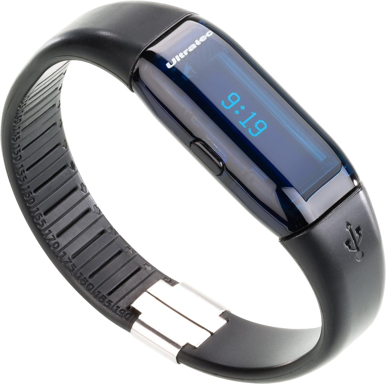 Ultratec Ultrasport by Active Tracker - Podómetro con Monitor de Actividad física y aplicación incluida