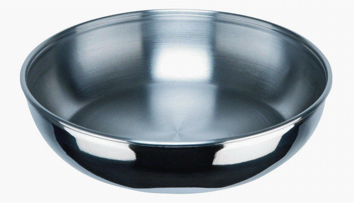 INOXIBAR Sartén 24 cm - sin revestimiento anti-adherente - sin mango ...