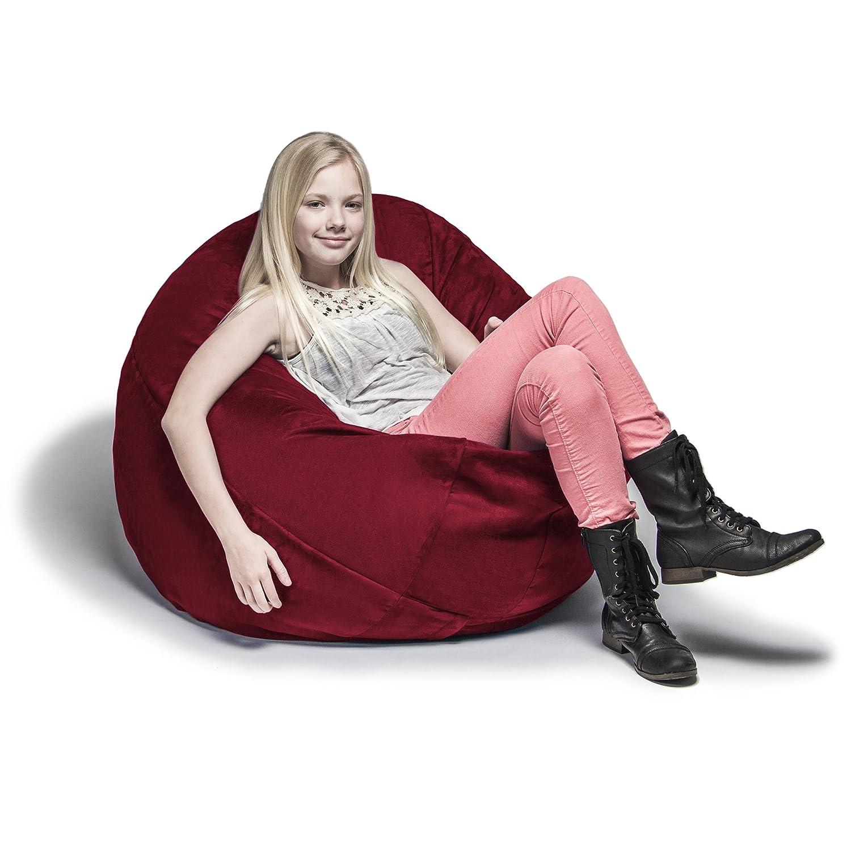 Amazon Jaxx Cocoon 4 ft Foam Bean Bag Chair Microsuede