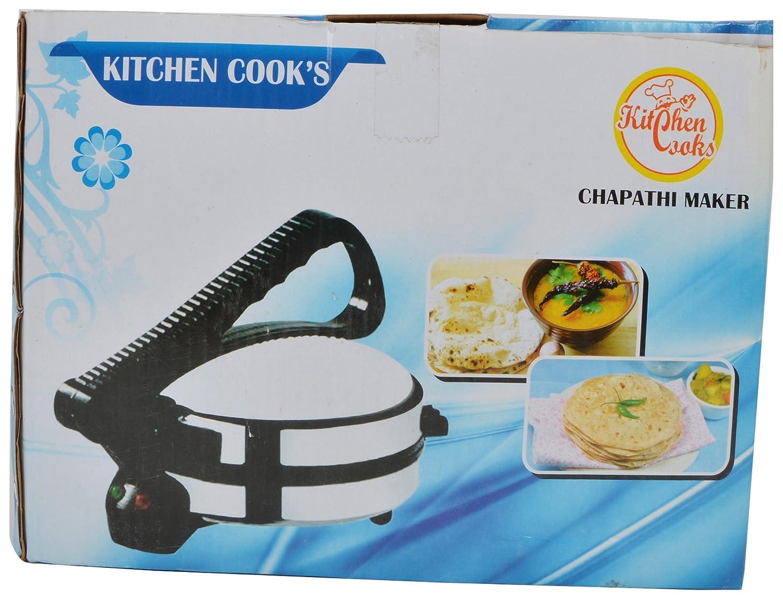 Kitchen Queen 1000 Watt Electric Rotimaker Combo (Roti Maker,Atta ...