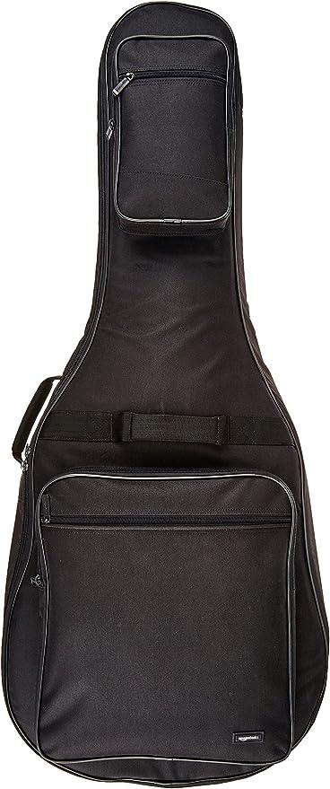 AmazonBasics - Funda para guitarra acústica Dreadnought - Negro ...