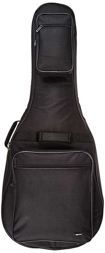 AmazonBasics - Funda para guitarra acústica Dreadnought - Negro