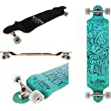 WiiSHAM Professional Speed Drop Down Complete Longboard Skateboard(42 Inches) ¡