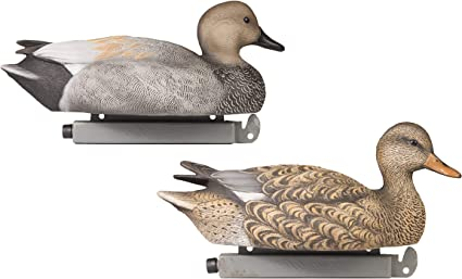 2-Pack: 1 Drake, 1 Hen Tanglefree Pro Series Mallard Feeder Butts Duck Decoys